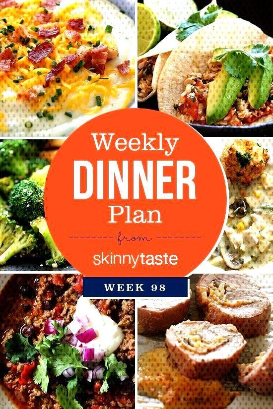 Skinnytaste Dinner Plan (Week 98). I'm on California shooting my third cookbook! In the meantime, I