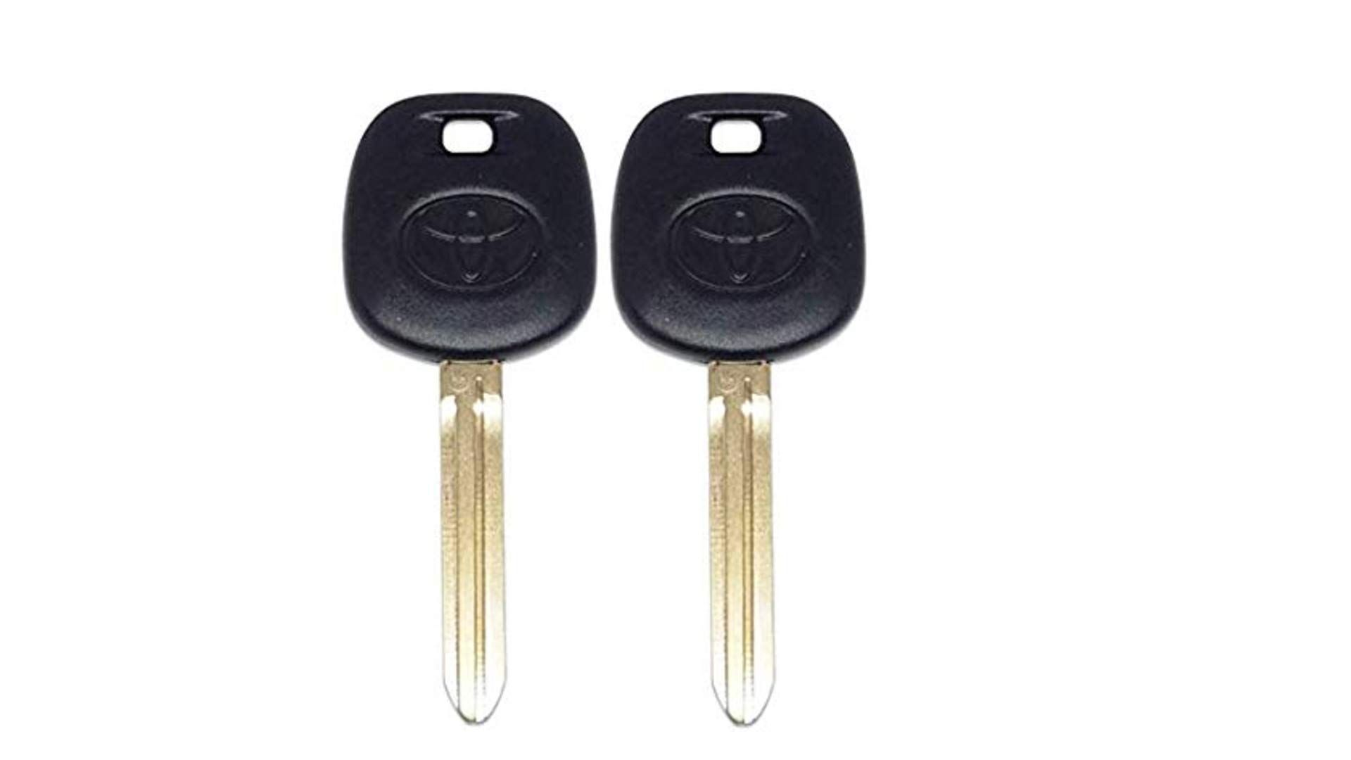Two Toyota Toy44g Pt Replacement 4d72 G Chip Transponder Master Key More Info Could Be Found At The Image Url This In 2020 Toyota Master Key Keyless Entry Systems
