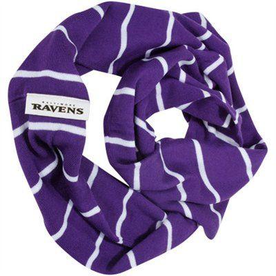 0389df4f 47 Brand Baltimore Ravens Women's Infinity Scarf - Purple | NFL Cold ...