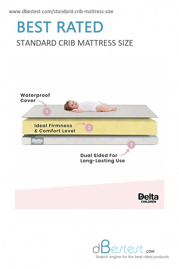 The 1 Standard Crib Mattress Size Diydecorating Mattress Sizes Toddler Mattress Crib Mattress