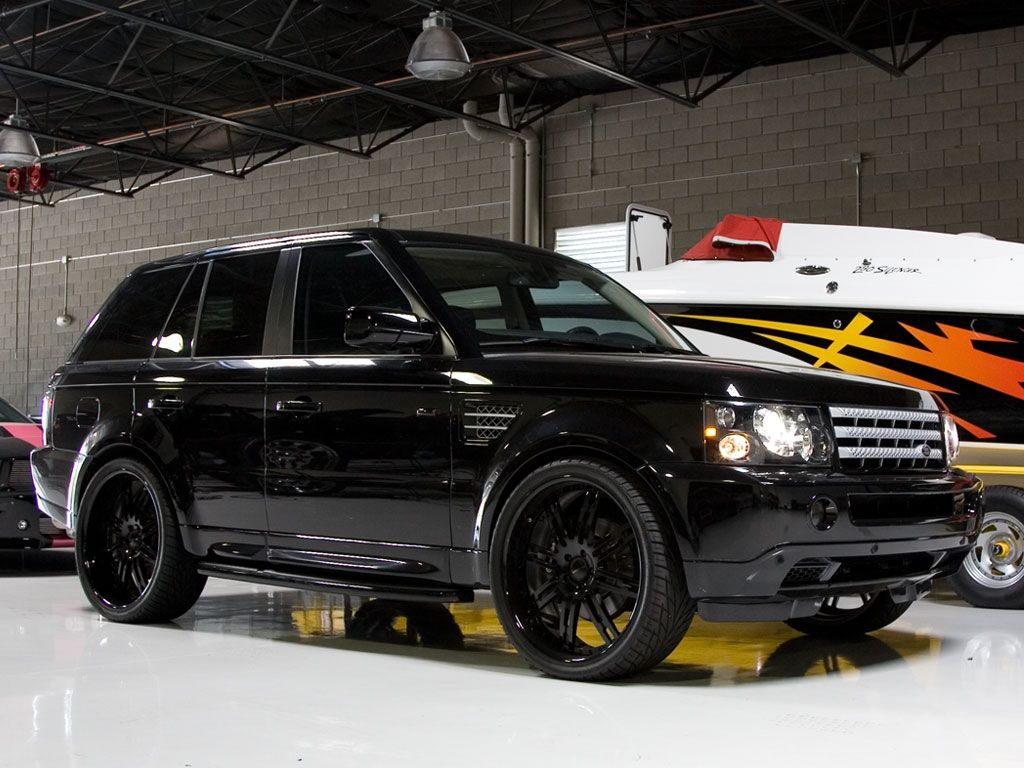 All Black Range Rover our Car  Future home  Pinterest  Sexy