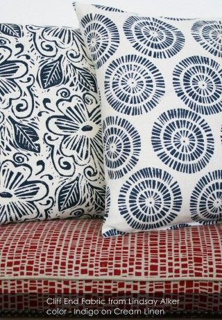 Cliff End Fabric from Lindsay Alker - Sublime Sofas