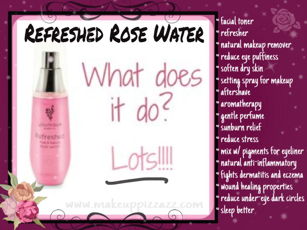 Younique Refreshed Rose Water Simple All Natural
