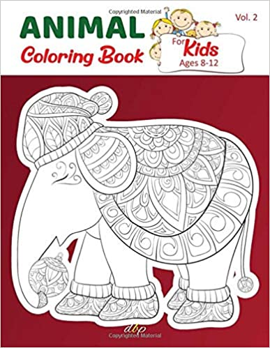 Amazon Com Animal Coloring Book For Kids Ages 8 12 Cute Funny Mandala Animal Picture Book Enjoy Ani Coloring Books Animal Coloring Books Funny Coloring Book