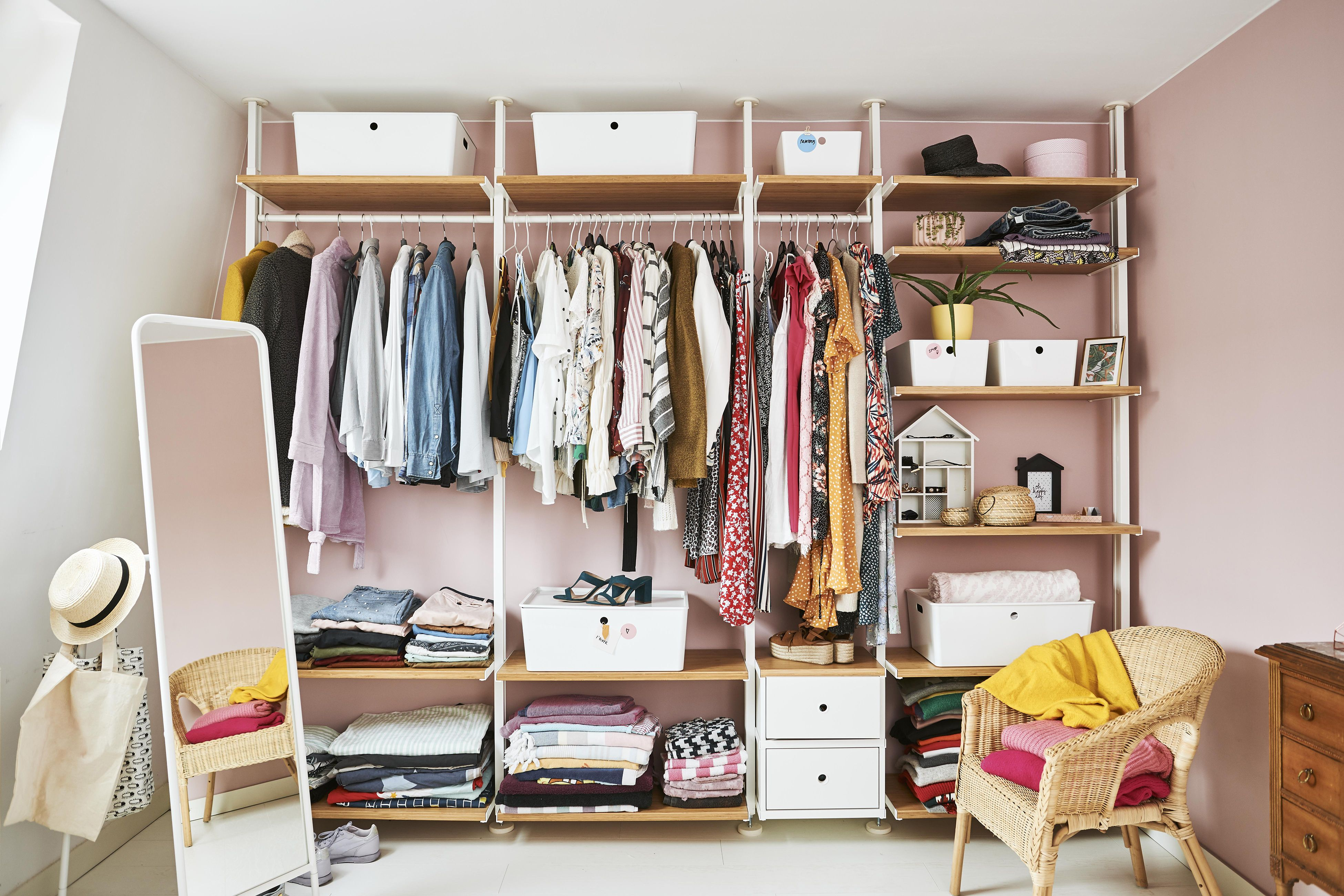 Design Your Own Wardrobe Plan Open Around The Clothes And Accessories You Need To