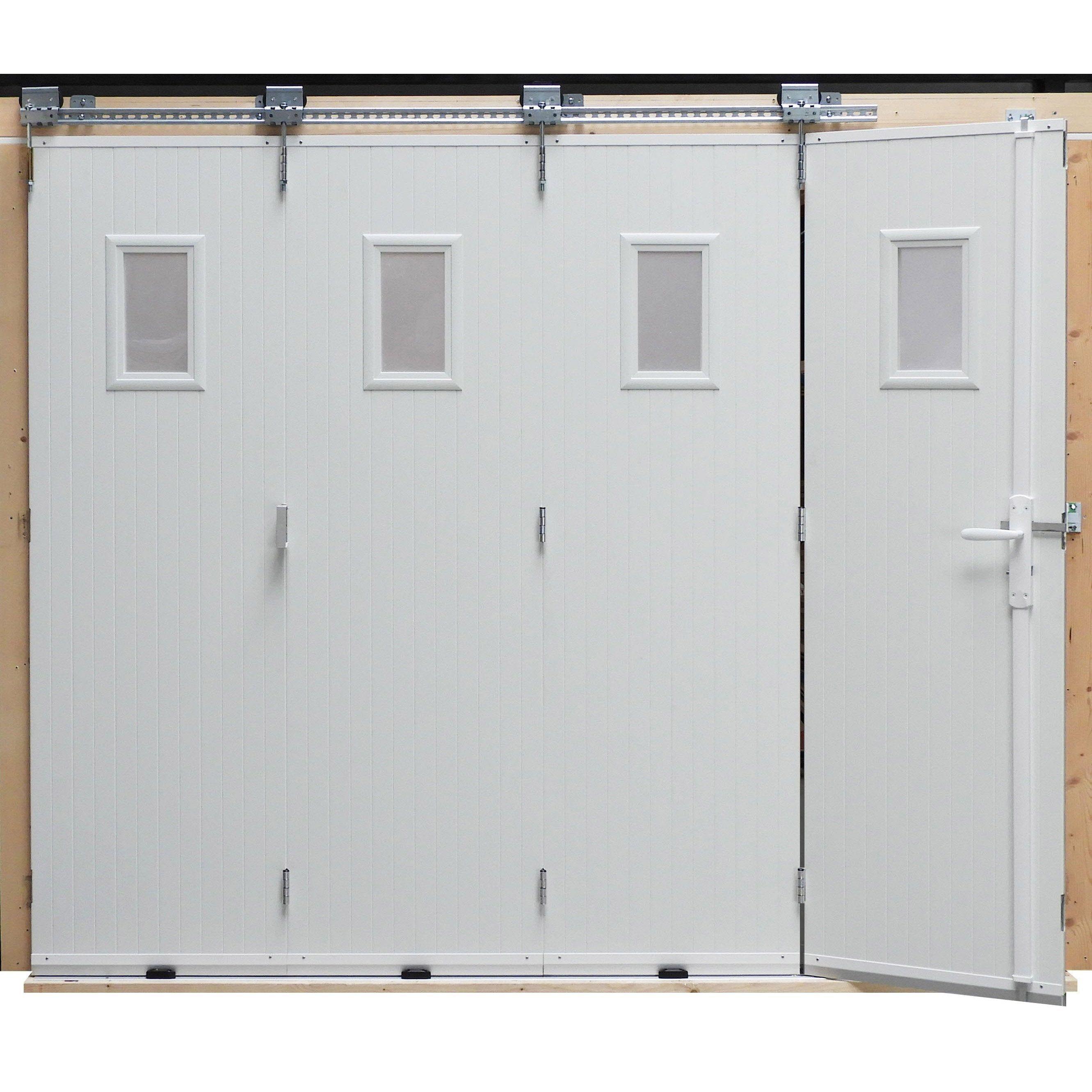 Artens Manual Sliding Garage Door In 2020 Sliding Garage Doors Garage Doors Doors