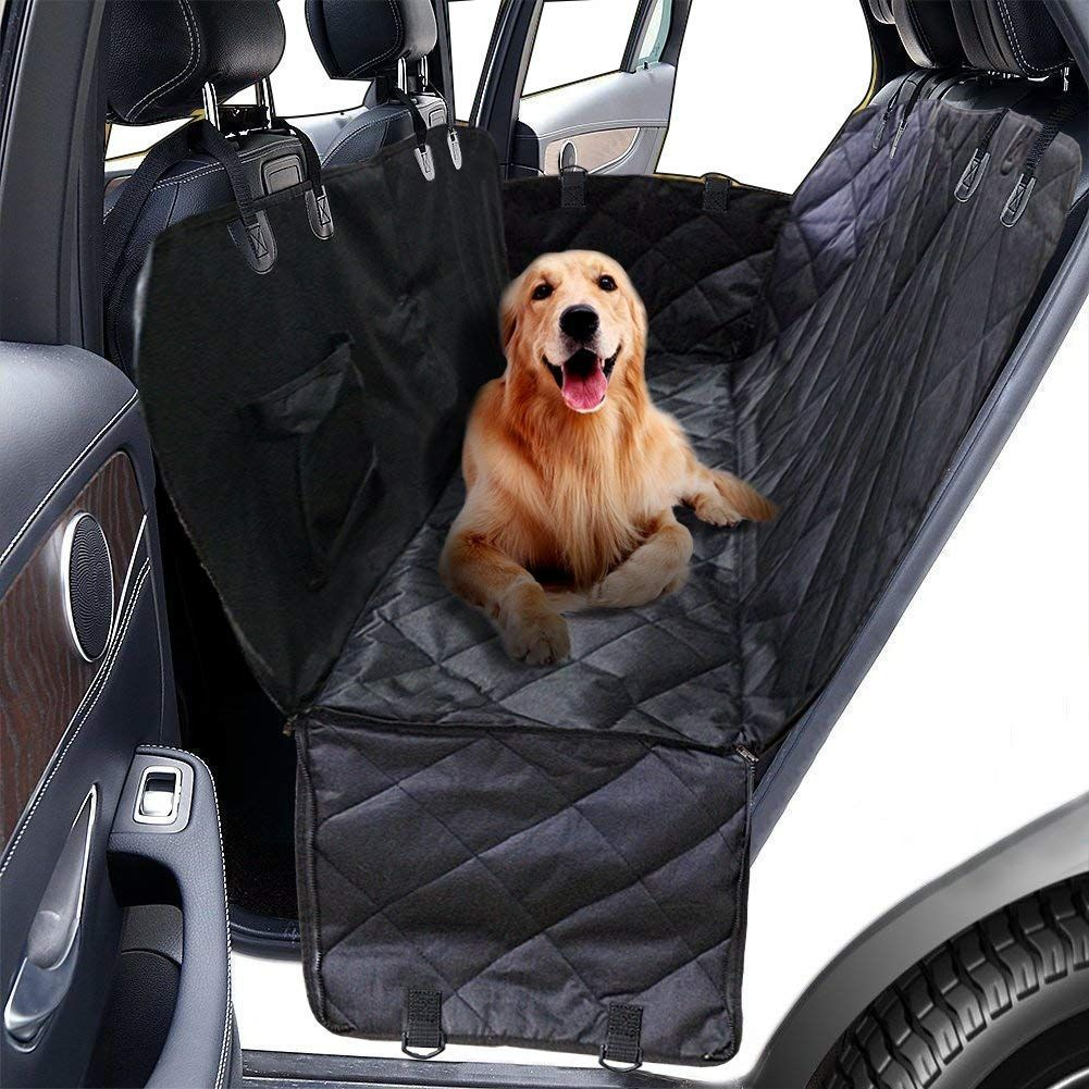Bolaxin Pet Car Back Bench Seat Covers for Big Dogs
