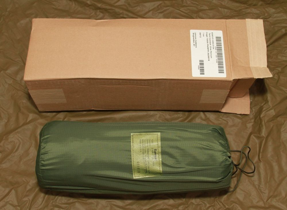 Eureka One Person Tent - TCOP Woodland 1 Man Tent - Tent Combat One Person & Eureka One Person Tent - TCOP Woodland 1 Man Tent - Tent Combat ...