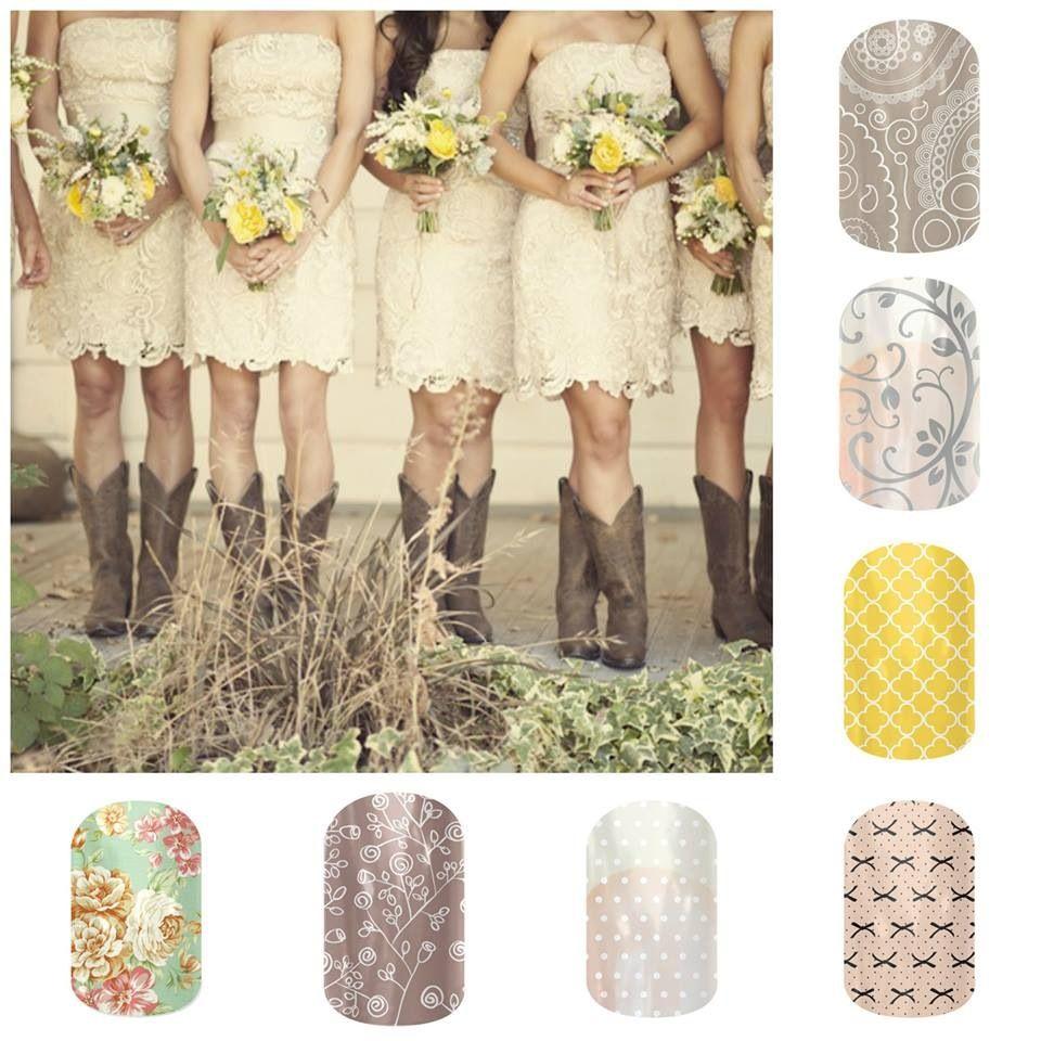 Country wedding jamberry fashion collage erindentonjamberrynails