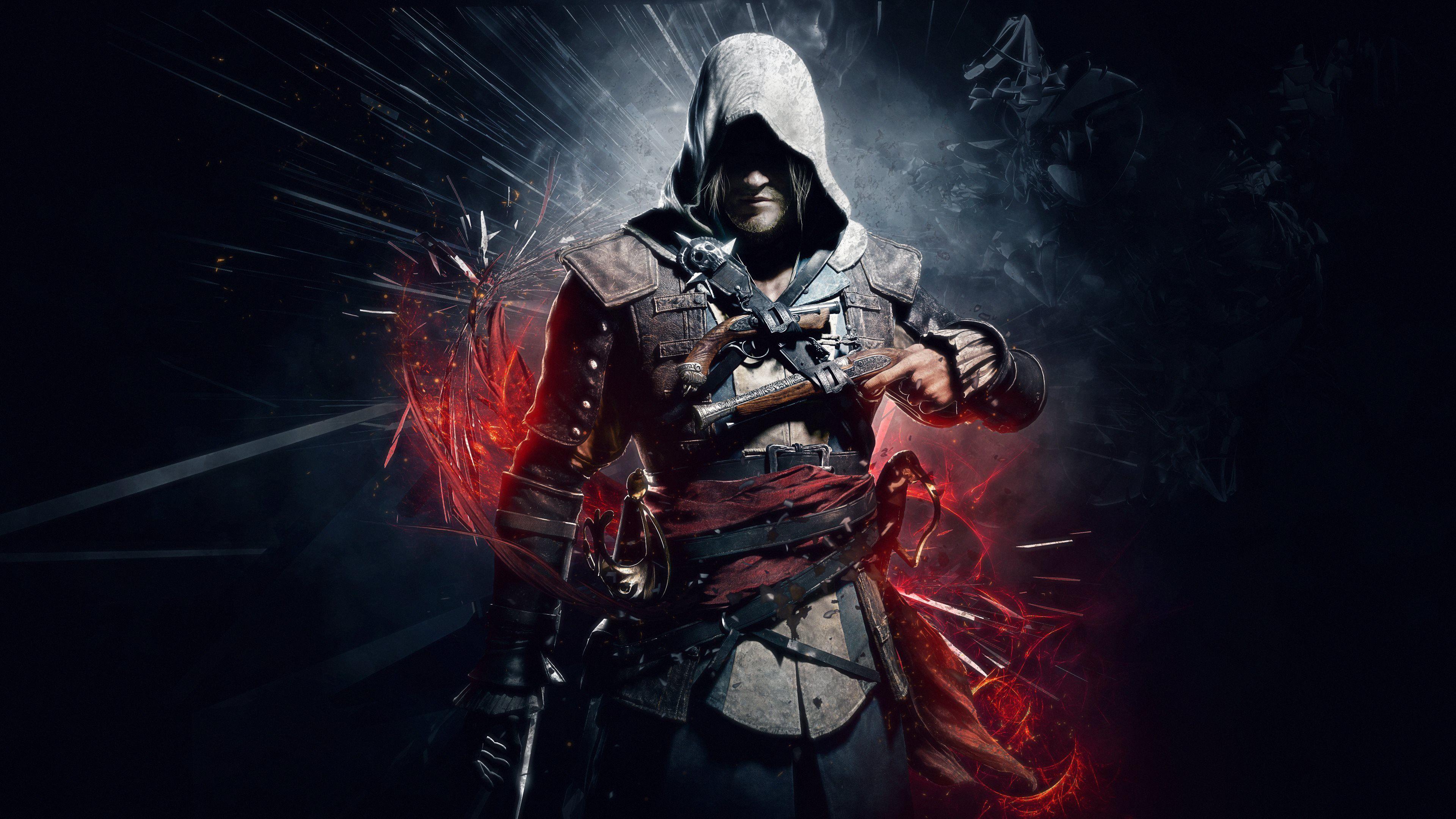 Assassin27screediv blackflagultrahdg 38402160 assassins creed iv black flag hd wallpaper voltagebd Choice Image