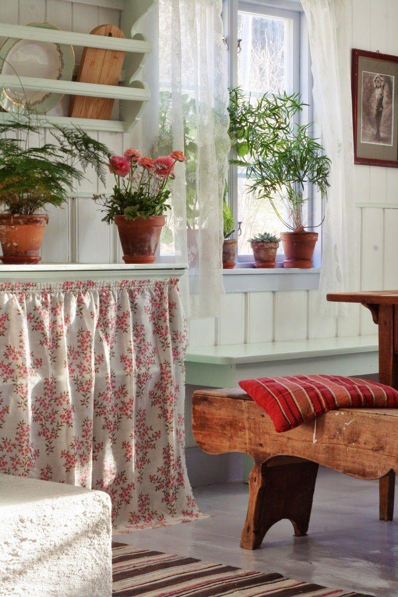 Charming Norwegian Summer Room