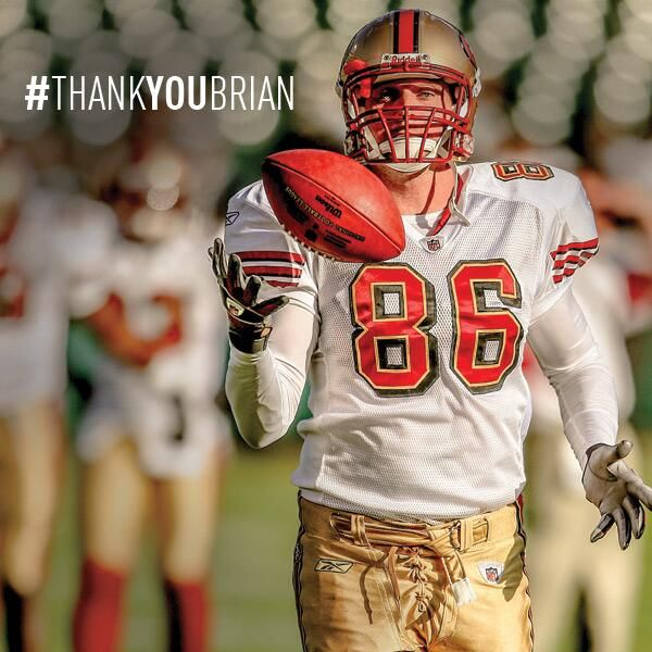 #49ers Brian Jennings #ThankYouBrian We will miss you on the field - best long snapper in the #NFL!