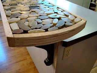 River Rock Countertop Stuff For The House Home Decor