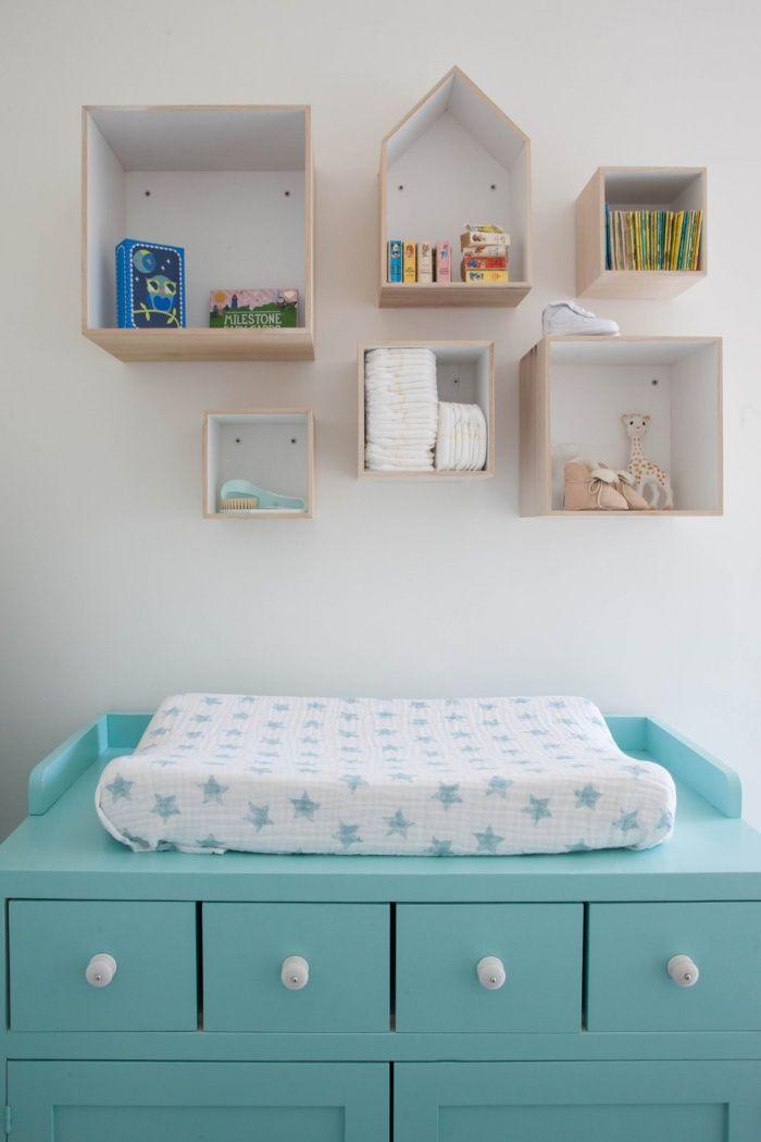 Habitación de bebé en estilo nórdico | Líneas simples, Estilo ...