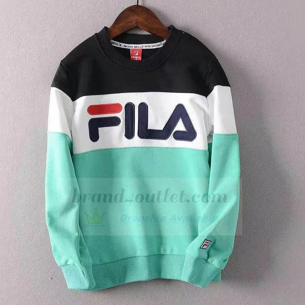 Fila Boys Contrast Raglan Sweatshirt