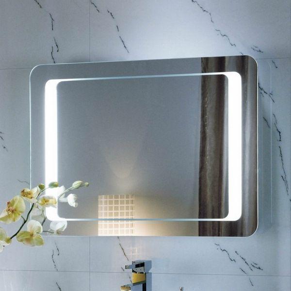 miroir mural avec miroir de salle de bains lumi¨res LED design