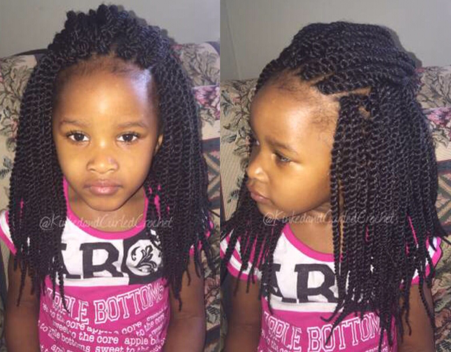 Natural Hair Styles Crochet Braids: Harlem 125 Mochi Kids Senegalese Rope Twists 10