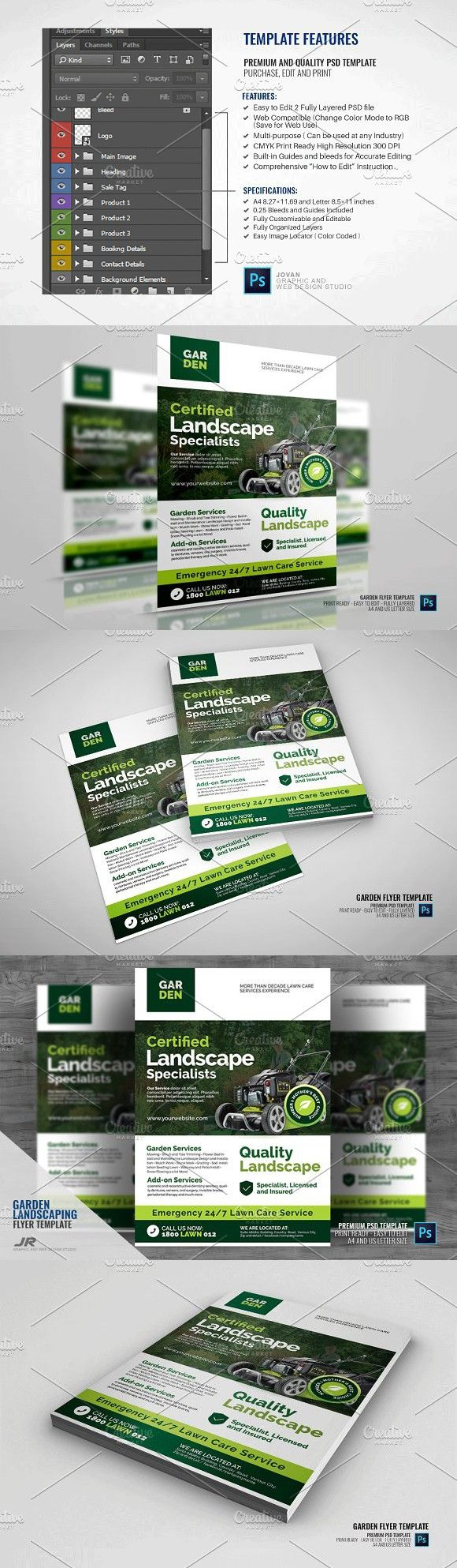 Landscaping and Lawn Mowing Flyer | Pinterest | Lawn and Flyer ...