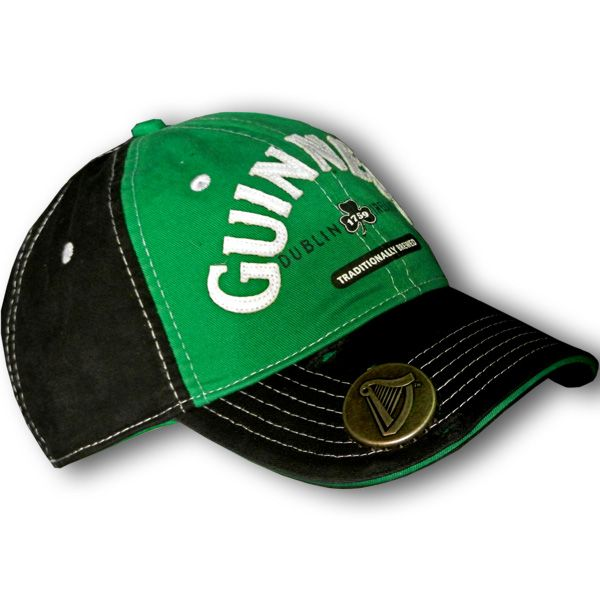 af1256a7e2b6 This Guinness hat includes a bottle opener in the visor. Sheer engineering  genius. Made in the distressed style with slight imperfections on the peak  to ...