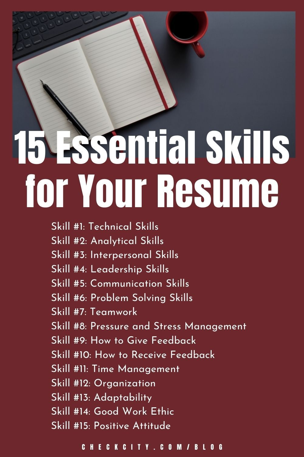 15 Essential Skills For Your Resume Stress Management Skills Resume Skills Teamwork Skills