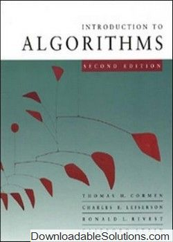 Solution manual for introduction to algorithms 2nd edition by thomas solution manual for introduction to algorithms 2nd edition by thomas h cormen charles e book fandeluxe Images
