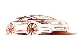 Peugeot RCZ Design Sketches