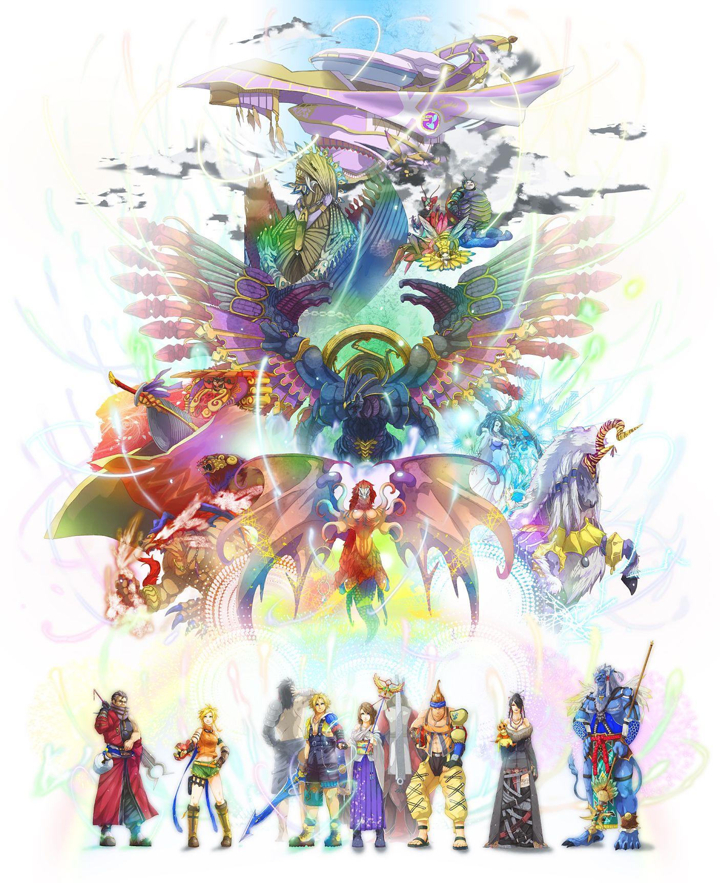 Pin By Sarah Golden On Final Fantasy Final Fantasy X Final Fantasy Artwork Final Fantasy