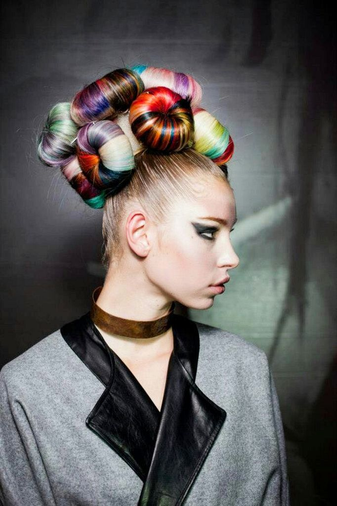 30 Best Huge Avant Garde Hair Styles That Are Absolutely Sensational Artistic Hair Hair Styles Editorial Hair