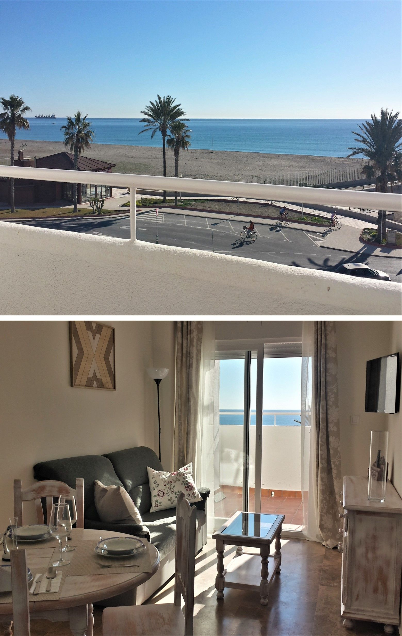 Garrucha ático Con Vistas Al Mar Primera Línea Playa En Garrucha Almería Casas De Veraneo Decoracion De Exteriores Vistas