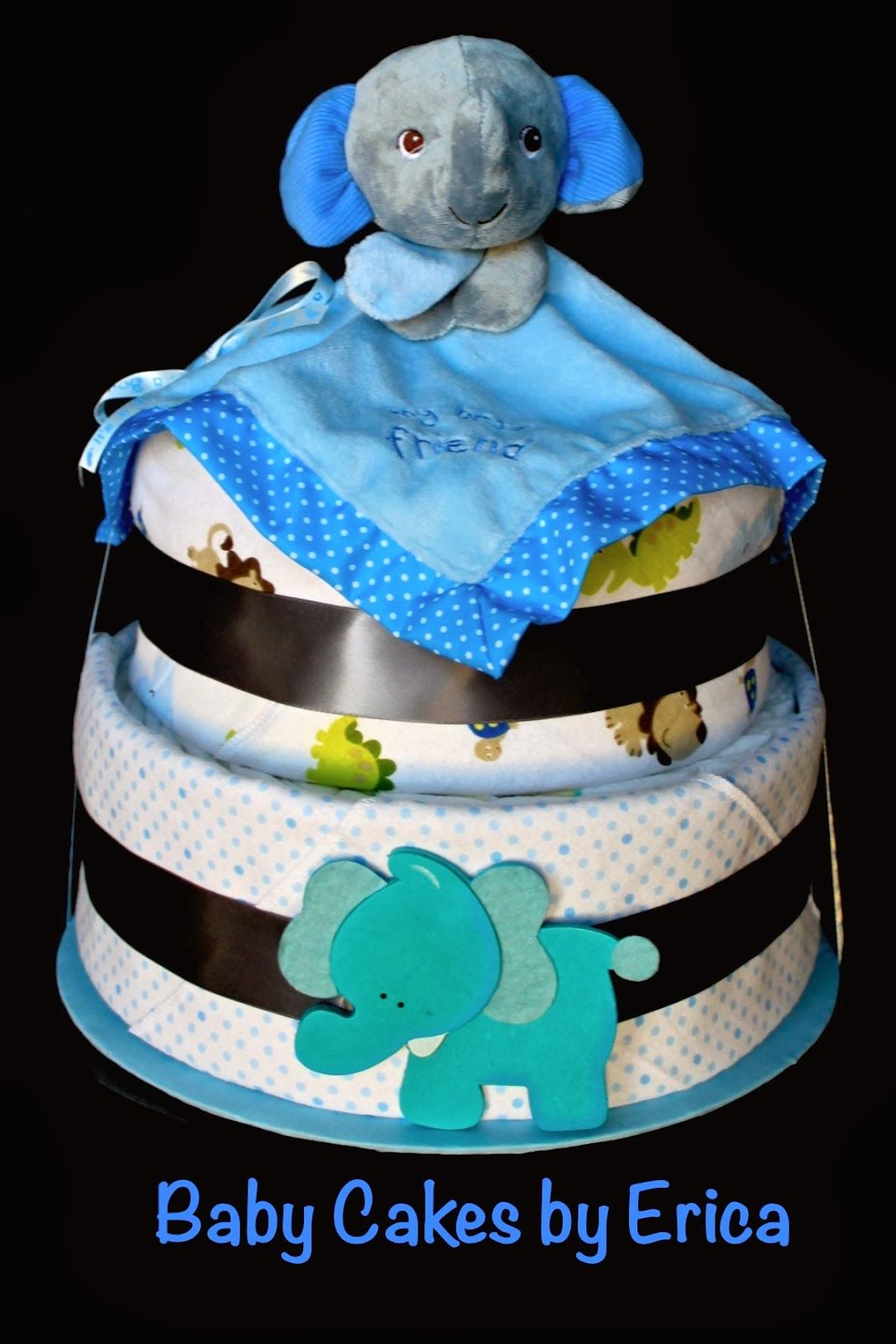 Baby cakes by erica with images baby cake elephant