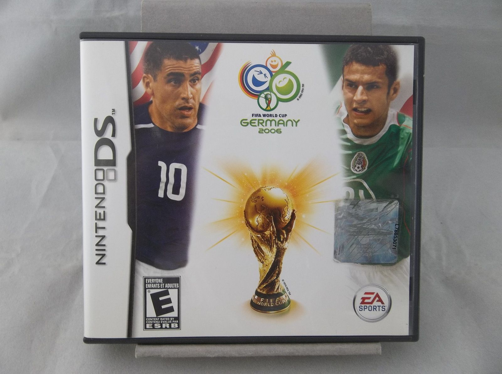 Ea Sports Fifa World Cup Germany 2006 Nintendo Ds Dsl Dsi Video Game Fifa Worldcup Germany Soccer Football Nintendo Ds Ea Sports Fifa Nintendo Ds Fifa