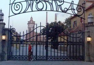 Wonka factory gates