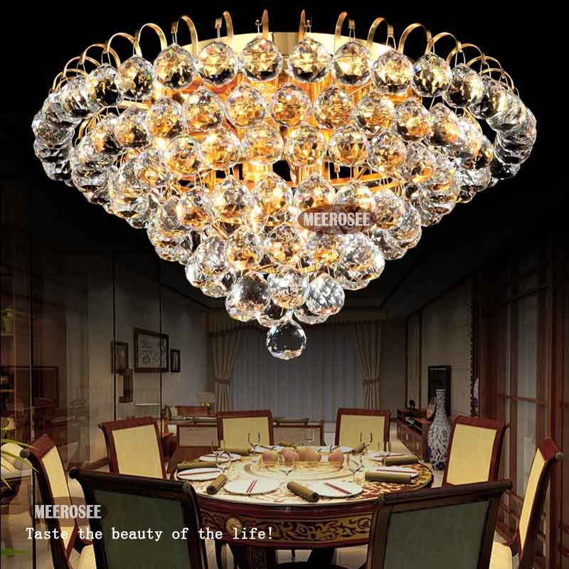 Crystal Chandelier House Lighting Fixtures And Fittings