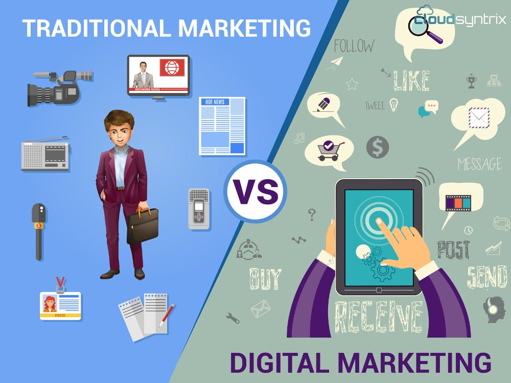 How #DigitalMarketing is more efficient than #Traditional #Marketing?