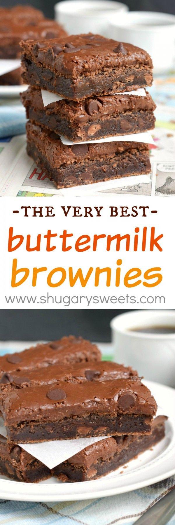 Buttermilk Brownies Desserts Buttermilk Brownies Best Brownies
