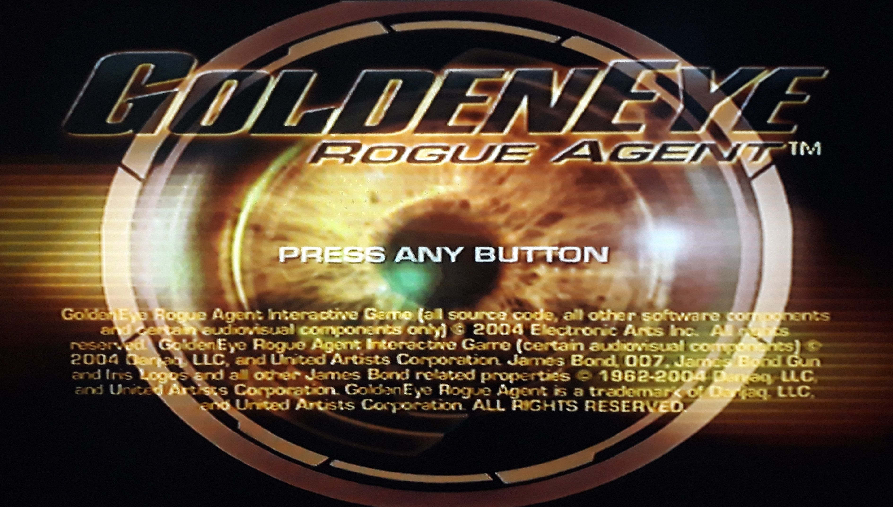 007 Item GoldenEye Rogue Agent PlayStation 2 game in