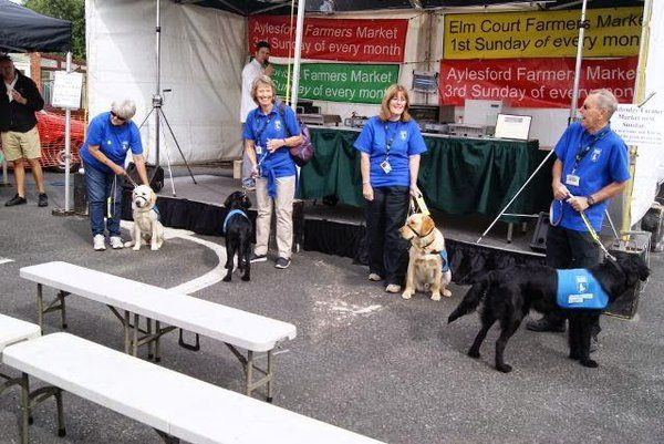 Guide Dogs Medway Guide Dog Medway Farmers Marke