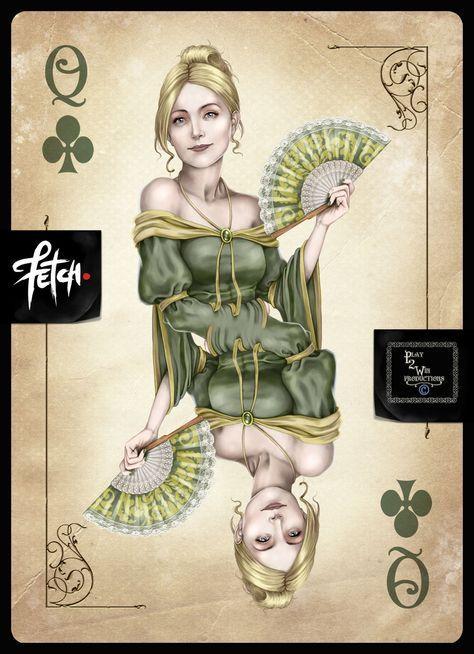 покер карты арт