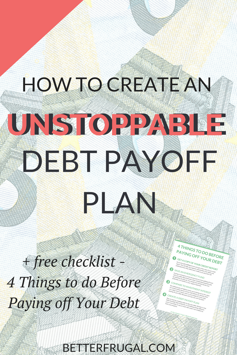 Debt Snowball vs. Debt Avalanche: How to create an unstoppable debt payoff plan!