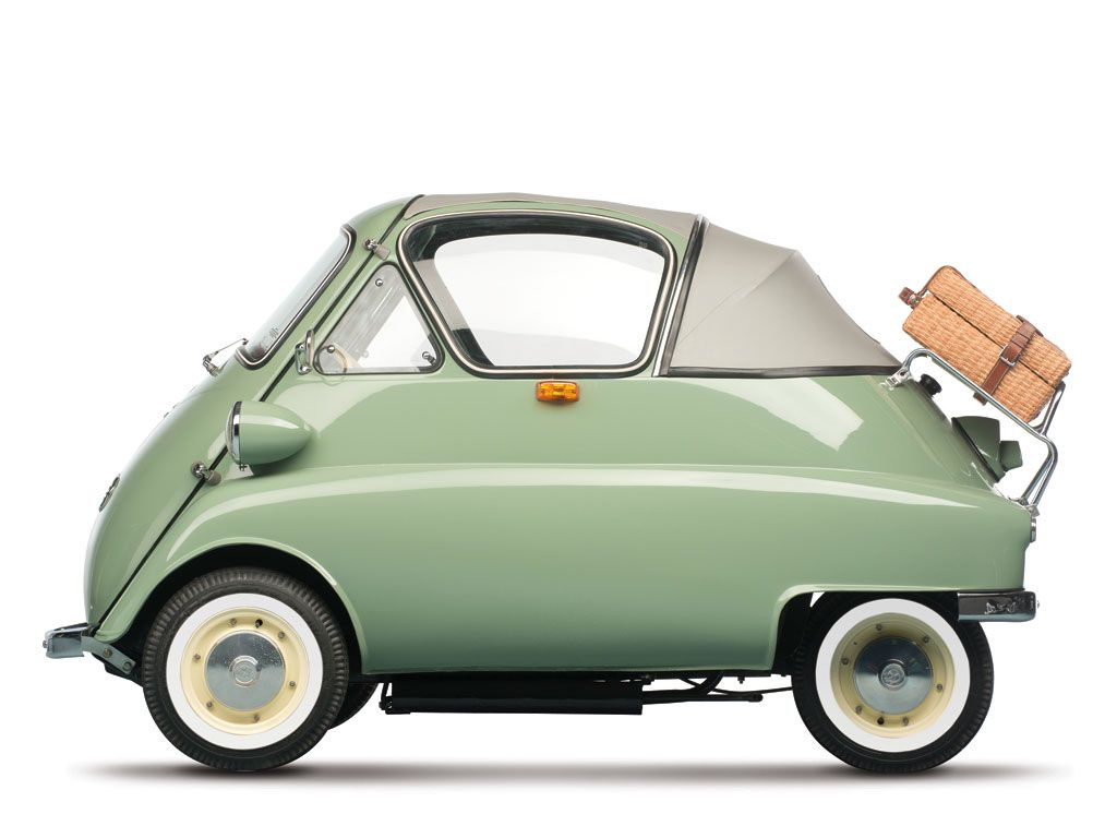 The isetta furnished bmw with a readily saleable economical car particularly popular in 1956 and 1957 when the suez crisis interrupted oil supplies to eur