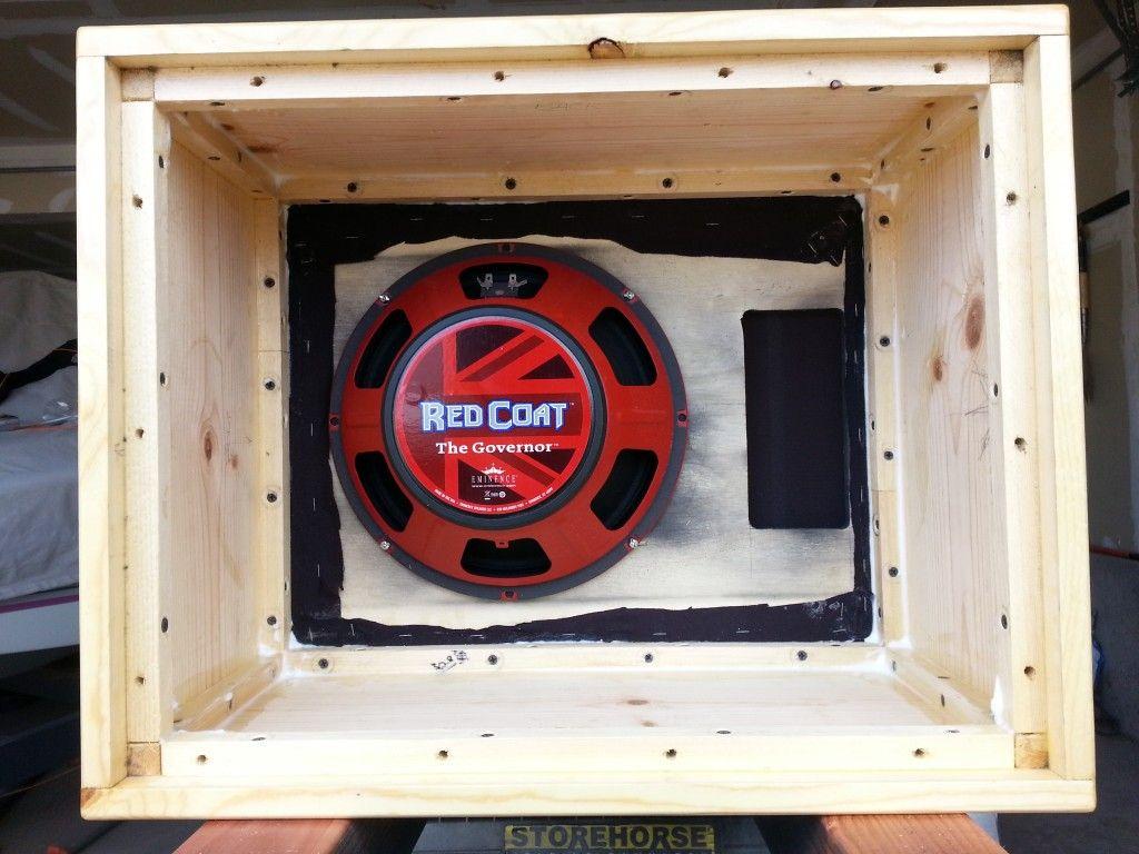 Building a 112 Guitar Speaker Cabinet   Guitar Speaker ...