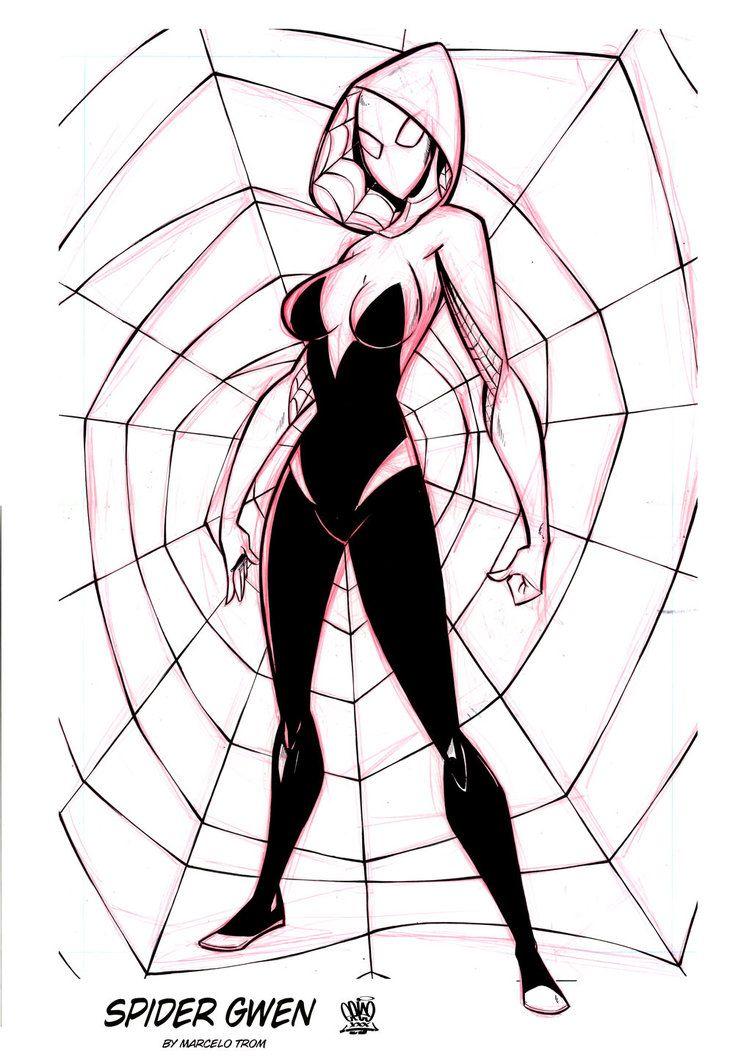 Spidey Gwen by celaoxxx.deviantart.com on @DeviantArt