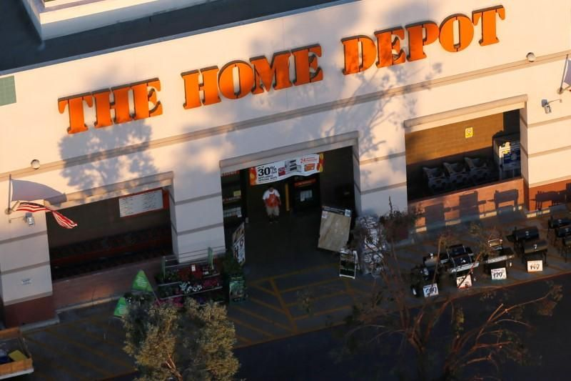Home Depot maintains full-year sales forecast, disappointing - sales forecast