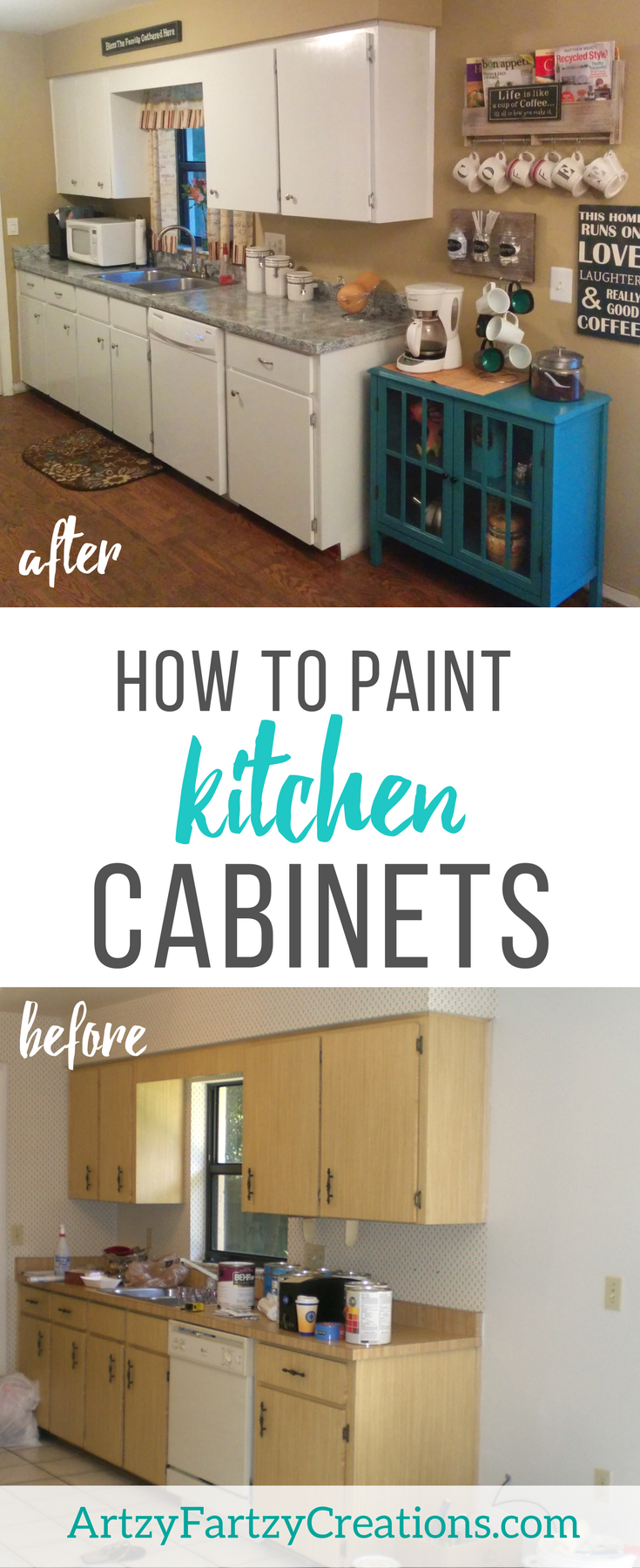 How to Paint Kitchen Cabinets FREE