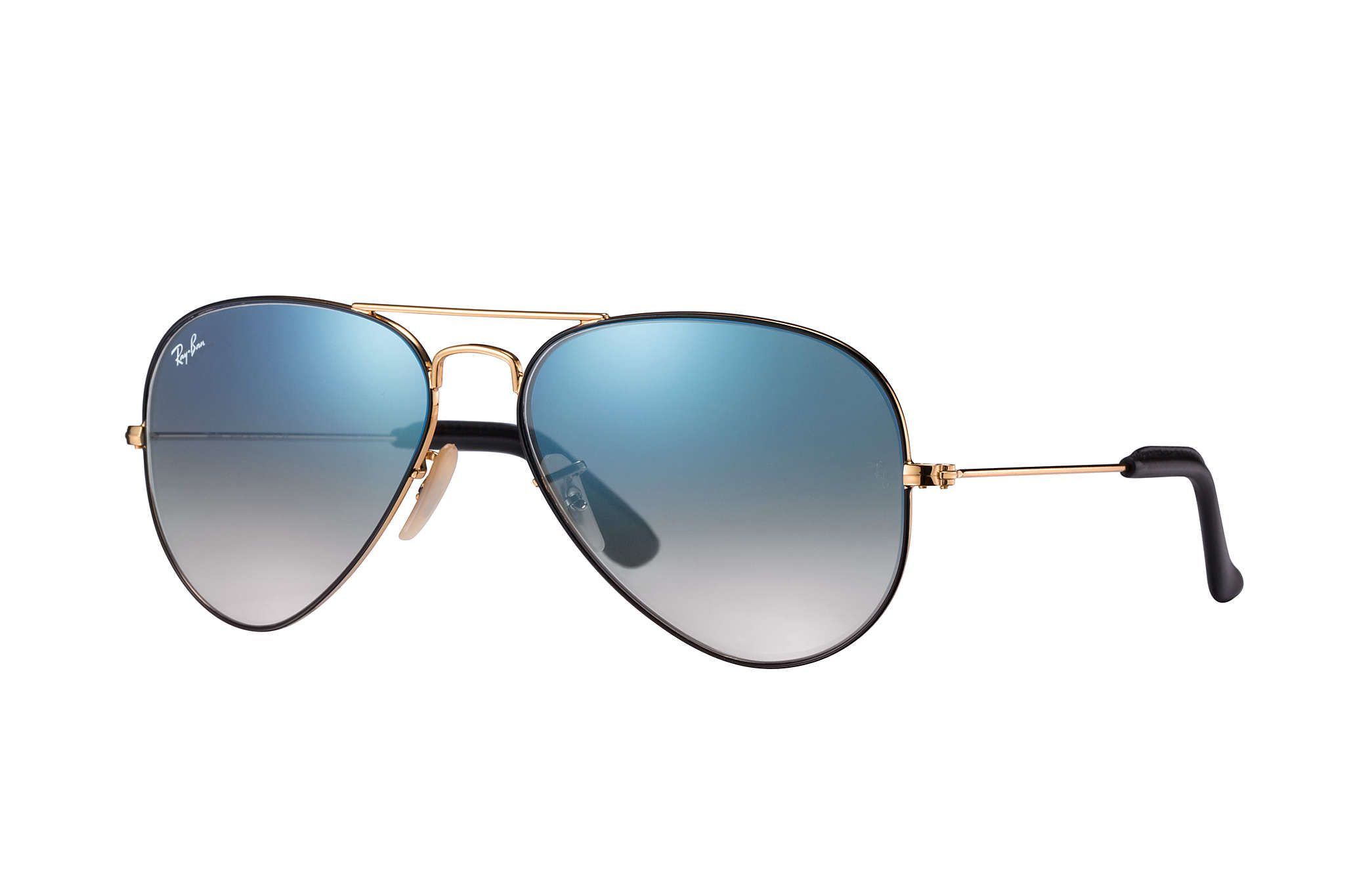 168 Ray Ban 0rb3025 Aviator Collection Gold Black Gold Sun Atemporal Look