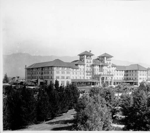 Raymond Hotel Second South Pasadena Photographs Sumner Hunt 1901