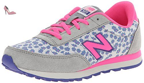 check-out acec0 a43eb New Balance Lifestyle Mode De Vie Grey Pink Youths Trainers ...