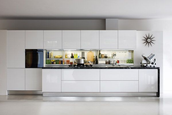 cuisine lin aire ouverte sur pi ce de vie cuisine lin aire pinterest cuisine lin aire. Black Bedroom Furniture Sets. Home Design Ideas