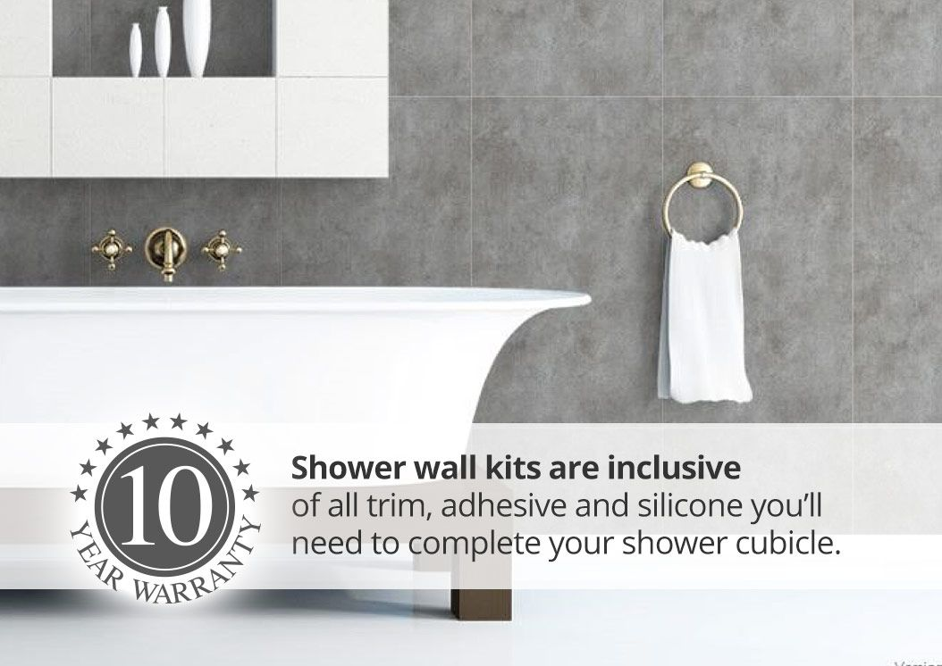 proclad shower wall panel kits | Shower Wall Panels | Pinterest ...