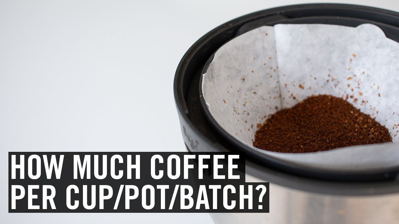 Coffee brewing ratios explained youtube coffee brewing